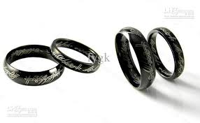 can titanium rings be engraved titanium steel lord of the rings laser engraving amp woman