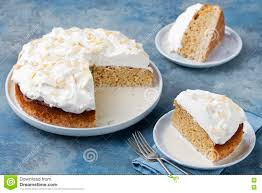three milk cake tres leches cake with coconut traditional