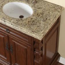accord 55 5 inch single sink bathroom vanity venetian granite top