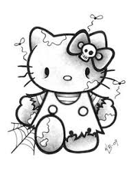 kitty cute zombie cute kitty zombie drawing