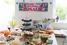rosalie u0027s u0027the little mermaid u0027 3rd birthday party roseyhome