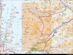 kyle map map 428 kyle of lochalsh plockton applecross ordnance