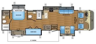 2017 precept class a motorhome floorplans u0026 prices jayco inc
