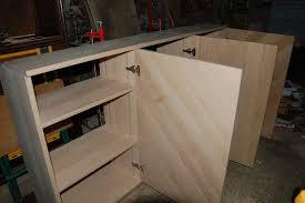 construire une cuisine fabriquer meuble de cuisine homewreckr co