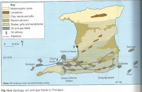 Tobago Map Factors Influencing Location Of Natural Gas And Oil Mining