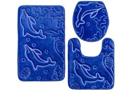 Bathroom Contour Rugs Elvoki Elvoki 3 Bathroom Rug Mat Set Memory Foam And