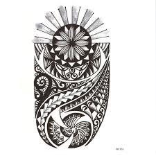 tribal totem waterproof temporary tattoos men day and earth tatoo