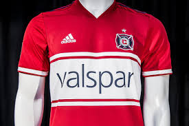 Stars On Chicago Flag Chicago Fire 2018 Home Kit Released Footy Headlines