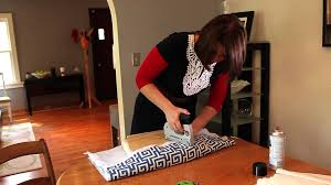 How To Upholster Dining Room Chairs by How To Re Cover A Dining Room Chair Hgtv