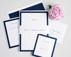 navy blue wedding invitations kawaiitheo com