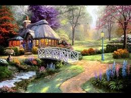 Thomas Kinkade Clocktower Cottage by Friendship Cottage By Thomas Kinkade Youtube