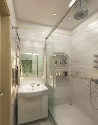 bathroom plush tiny bathroom decor idea with modern bath