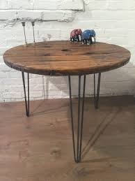 Industrial Table L Coffe Table Coffee Table L Shaped Coffee Table Large Wire Spools