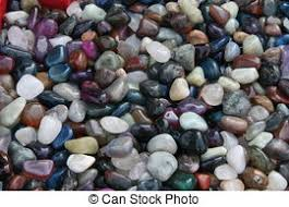 stock images of multi coloured ornamental stones