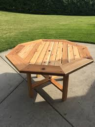 Western Red Cedar Outdoor Furniture by Red Cedar Patio Table Woodworking For Mere Mortals