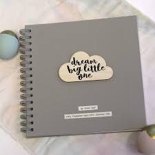 personalised cloud quote memory book by posh totty designs creates