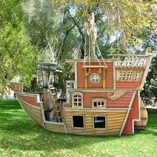 Kid Backyard Ideas Pirate Ship Play House Design Adding To Backyard Ideas
