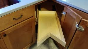 lazy susan for kitchen cabinet kitchen cabinet lazy susan alternative youtube