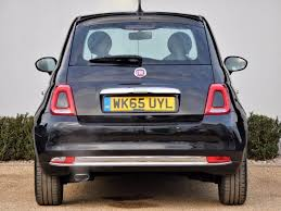 fiat 500 hatchback used crossover black fiat 500 for sale dorset