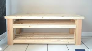 How To Build A Shoe Rack Bench Mudroom Bench With Shoe Storage Buildsomething Com