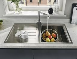 Lamona Windermere Single Bowl Sink Stainless Steel Kitchen Sinks - Kitchen bowl sink