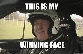 Smug Meme Face - jeremy clarkson is supposed to be fired today