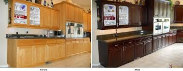 NHance Time For A Change NHance Renew Flooring Inc - Kitchen cabinets color change