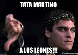 Tata Meme - tata martino a los leones downvoting roman make a meme