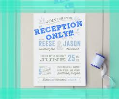 Reception Only Invitations 100 Wedding Reception Only Invitations Wedding Invitation