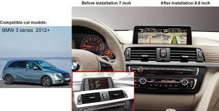 navigation system for bmw 3 series how to install bmw 3 series f30 car dvd gps navigation system diy