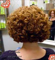 high nape permed haircut permed short hair 2 short permed hair perms and pixies