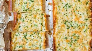 Garlic Bread In Toaster Cheesy Garlic Bread Cooking Classy