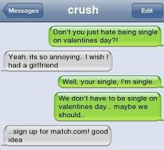 Funny Text Messages Jokes Memes - jokes about being single on valentines day