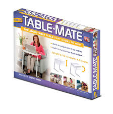 Fold Up Dining Room Table Amazon Com Table Mate Tm011104 Folding Table White Home U0026 Kitchen