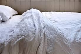 Duvet Store Linen Duvet Cover In White In Bed Store