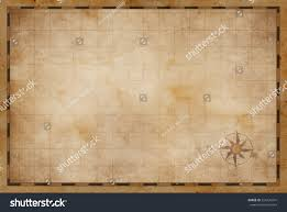 Blank Treasure Map by Old Blank Treasure Map Background Stock Illustration 556734241