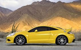 mitsubishi yellow pictures of the mitsubishi eclipse japanese sports car eclipse