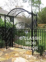Metal Arbors Trellises And Arbors Classic Iron Decor Inc