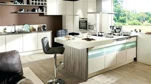 idee cuisine ilot central superb idee cuisine ilot central 6 cuisine bois fr234ne superb
