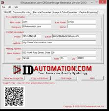 Create Qr Code For Business Card Qr Code 2d Barcode Image Generator With Vcard And Url Encoding