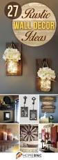 compact rustic bedroom wall decor ideas modern rustic wall art