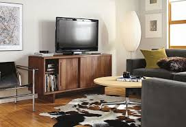 Media Cabinet With Sliding Doors Anders 56w Sliding Door Media Cabinet