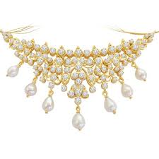 real diamond necklace images Buy diamond necklaces in different shape size and length surat JPG