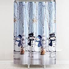 snowman shower curtain bed bath u0026 beyond