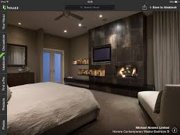 Master Bedroom Ideas With Fireplace With Feature Wall Tv And Fireplace Bedroom To Dream About