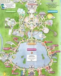disney epcot map epcot park at disney orlando tourist information bureau