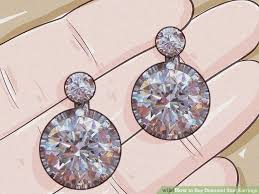 cheap diamond earrings how to buy diamond stud earrings 15 steps with pictures