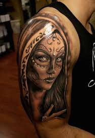 30 best day of the dead face tattoos images on pinterest