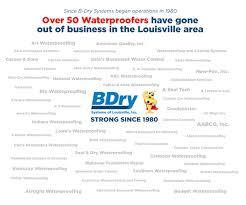 warranty b dry louisville