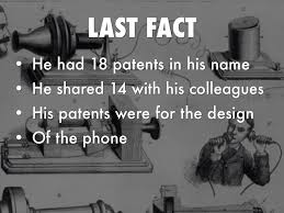 facts about alexander graham bell s telephone alexander graham bell by justin machen